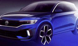 In Geneva, will be presented the concept of a loaded VW T-Roc R