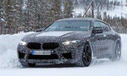 BMW M8 Gran Coupe caught on the tests