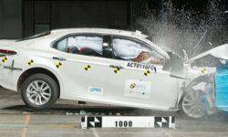 The new Toyota Camry 2019 has already passed its first crash tests