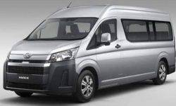 "The Network ""has declassified"" the new generation of minivan Toyota HiAce"