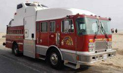 The canadian turned fire engine to home on wheels