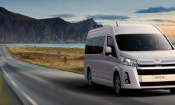 Toyota introduced a new generation of vans, minibuses Hiace