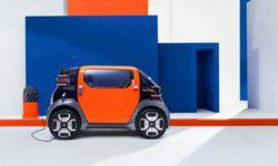 Citroen has unveiled the ultra-compact electric car