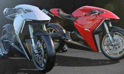 "Italian brand Ducati is preparing a ""green"" model"