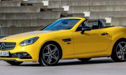 Compact Roadster Mercedes-Benz SLC received a farewell version of the Final Edition