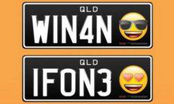 Authorities have allowed residents to use Emoji on the car license plates in Australia