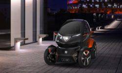 SEAT has presented an unmanned electric quadricycle Minimo