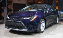The most expensive version of the new Toyota Corolla 2020