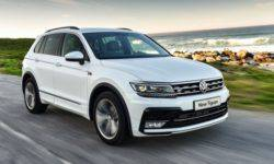 The best selling SUV in Europe was the Volkswagen Tiguan