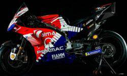 Lamborghini has designed motorcycles for the Pramac Ducati MotoGP