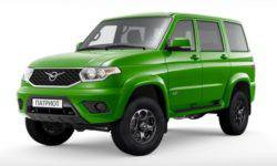 "SUV UAZ Patriot ""green"""