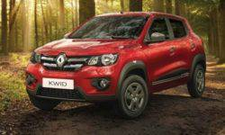 The Renault Kwid compact for 4 thousand dollars again updated