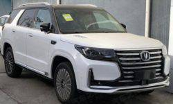 New Changan CS95 in the spring will go on sale