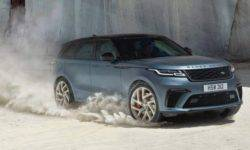 Range Rover has introduced a version of its flagship crossover Velar