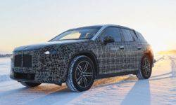 BMW is testing in the harsh conditions of the electric crossover iNext