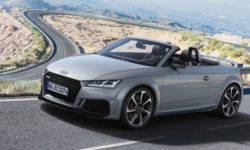 "The Germans unveiled the new ""charged"" coupe and Roadster Audi TT RS 2019"