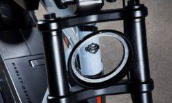 For the first time experienced the concept of elektroskutery Harley-Davidson