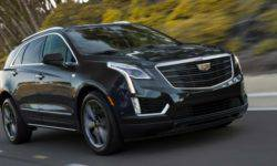 Cadillac introduced in Chicago, the sports version of the crossover XT5