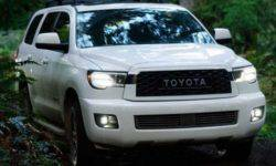 Toyota will bring to Chicago is about vresii Sequoia off-road