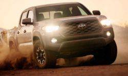 Do Toyota updated Tacoma pickup truck