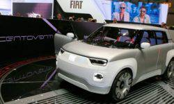 Fiat unveiled a concept electric car c available unprecedented possibilities of customization
