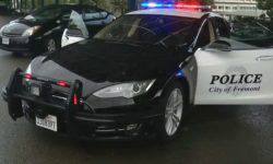 Police Fremont police officially announced the Tesla Model S