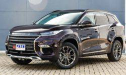 Luxury crossover Exeed TX from Chery appeared at dealers in China