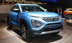 The seven-seater crossover Tata Buzzard will sell in Europe