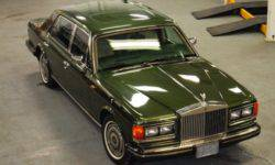 Armoured Rolls-Royce Silver Spur Princess Dianna auctioned