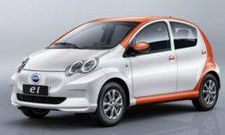 The Chinese have presented the electronic copy of the Toyota Aygo