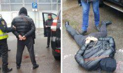 In Krivoy Rog was caught red-handed thieves of Toyota and Lexus