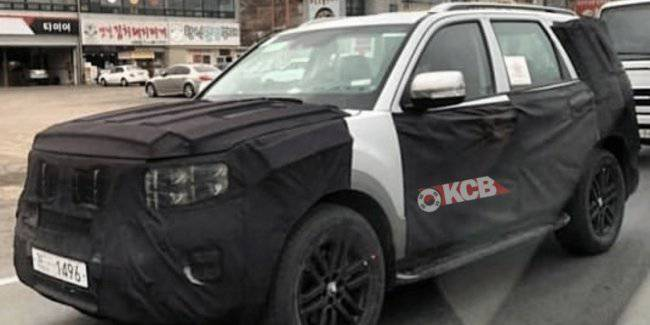 New KIA Mohave brought to a final test