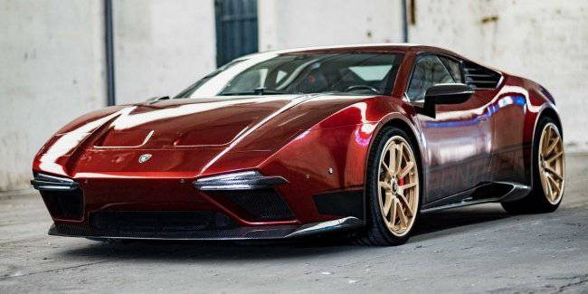 "That it will look like ""new"" Lotus supercar De Tomaso Pantera"