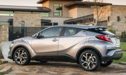 Crossover Toyota C-HR 2019 will receive the new basic version