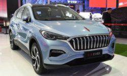 Hongqi is preparing to release its first electric crossover E-HS3