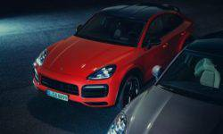 Presents the new Porsche Cayenne Coupe
