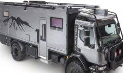 The brutal house on wheels for off-road