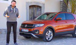 T-2019 Cross – test the smallest SUV from Volkswagen