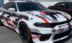 Dodge has unveiled a prototype sedan Charger