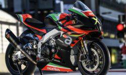 Aprilia presented a unique limited edition RSV4 Superbike X