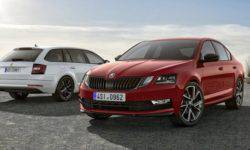 Skoda has introduced a sports version of the Octavia for Europe