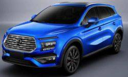 The crossover from Landwind with the design of the Hyundai Santa Fe will show at the motor show in Shanghai