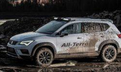 Atelier JE Design SEAT Ateca turned into a real SUV