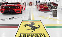 Soon will be presented a hybrid sports car Ferrari with a V6 motor