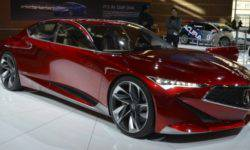 """Acura will introduce a new """"charged"""" sedan in August"""