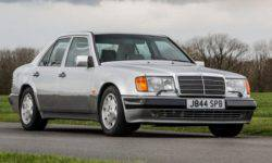 "The legendary ""Mr. Bean"" was put up for auction my Mercedes-Benz"