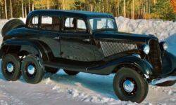 Rare six-wheeled variant of the GAZ-M1 was put up for sale