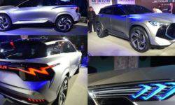 The Chery sub-brand will present an update of its unusual crossover