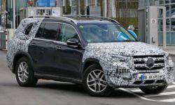 The new Mercedes GLS is the final test before the debut in new York