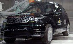 New Range Rover Evoque received five stars for occupant protection